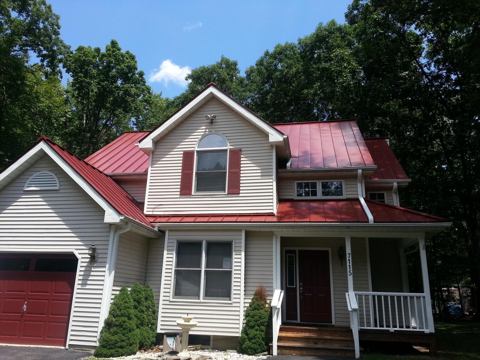 Chatham, NJ Metal Roof Farmhouse