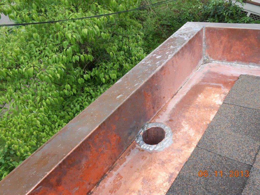 Montclair, NJ Yankee Pool Gutter