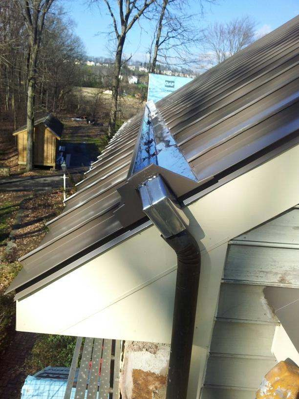 Chalfont, PA Yankee Gutter System