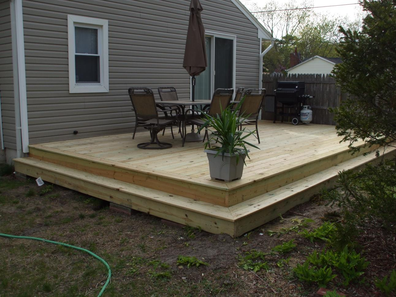 Decks And Patios Wood Deck Installation Experts In Virgina