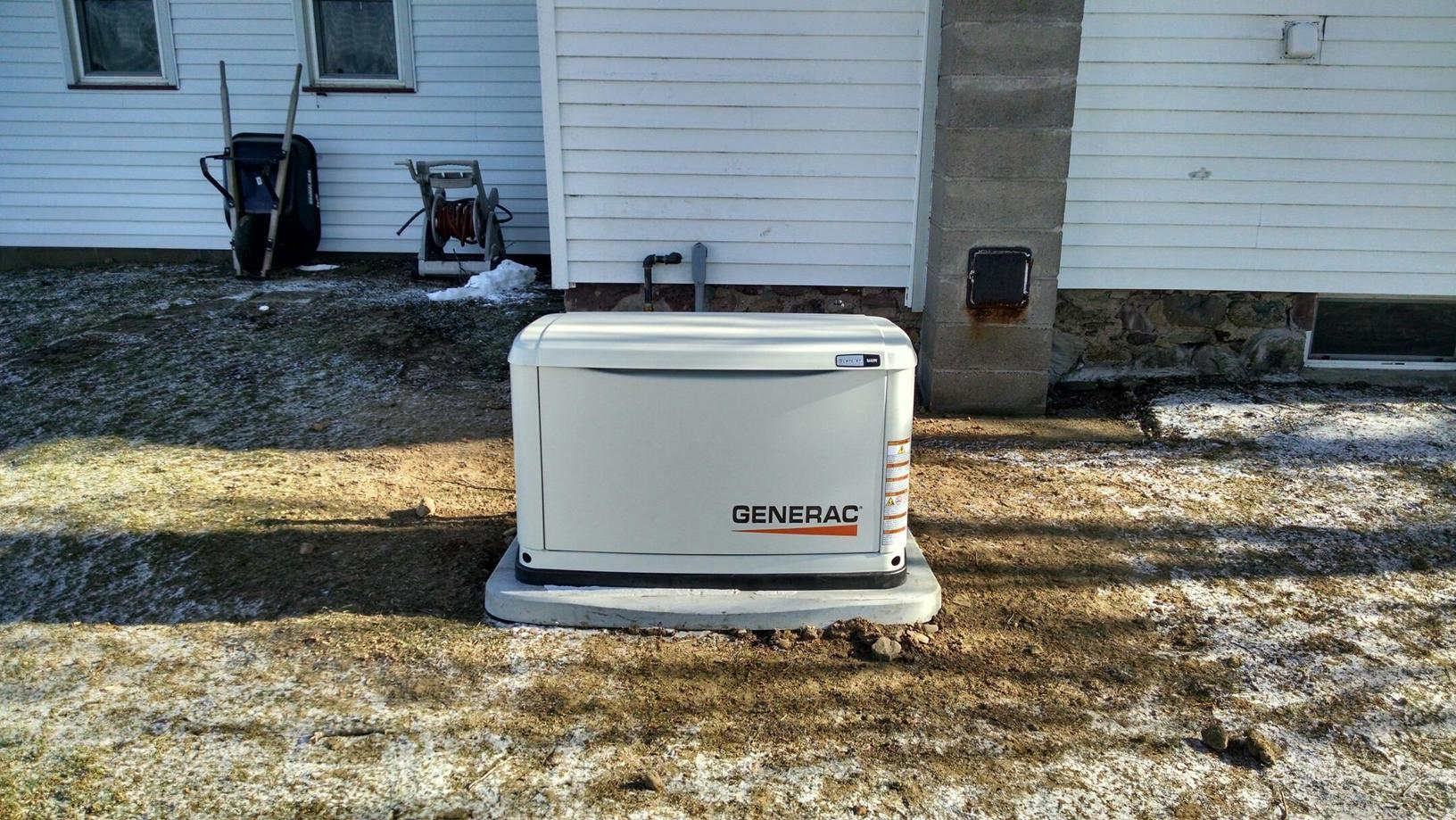 Never a better time to install a standby generator in Wolcott, NY