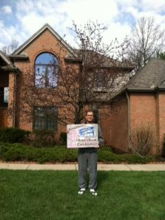 Holland, Ohio Happy Roofing Customer