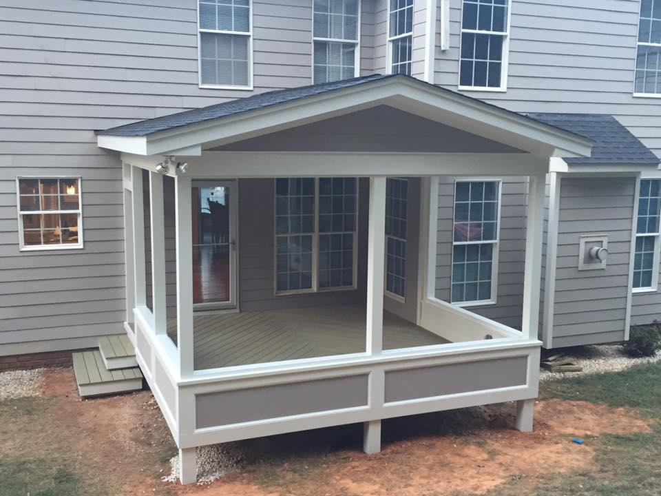 Maintenance Free Open Porch Contractors