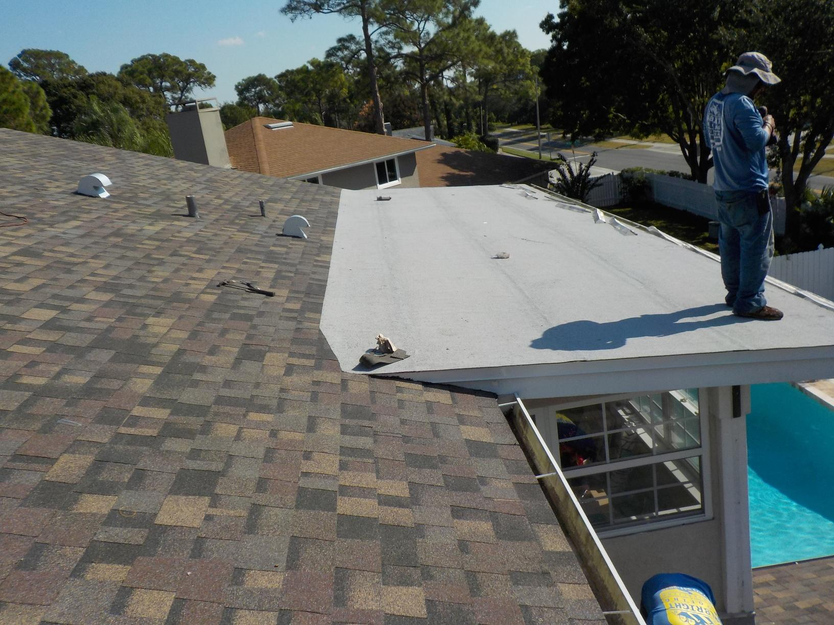 Shingle & Flat Roof Replacement in Clearwater, FL