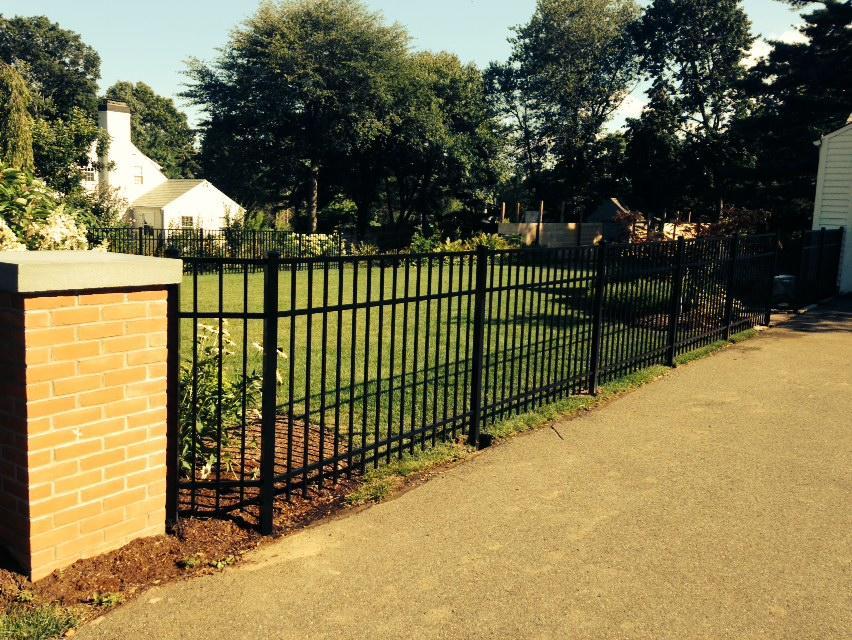 Aluminum Fence Installation in Hamden, CT