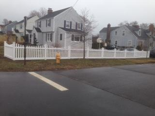 Vinyl Picket Fence Replacement in Fairfield, CT