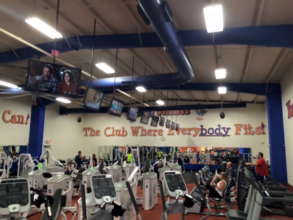 Fitness center upgrades in Newark, NY
