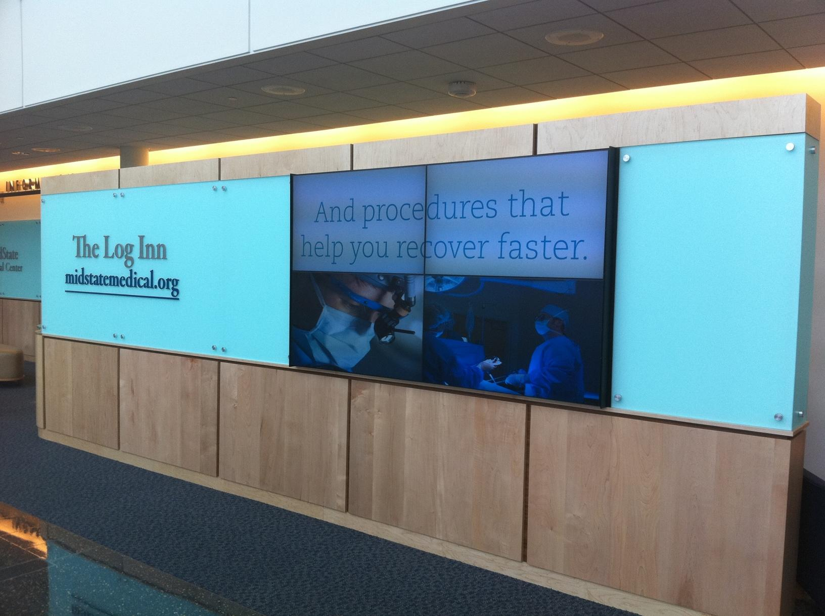Mid State Medical Video Wall