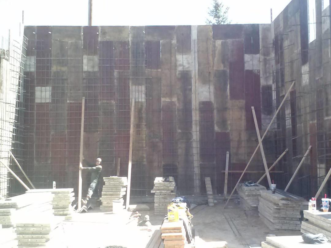 18' Foot Wall