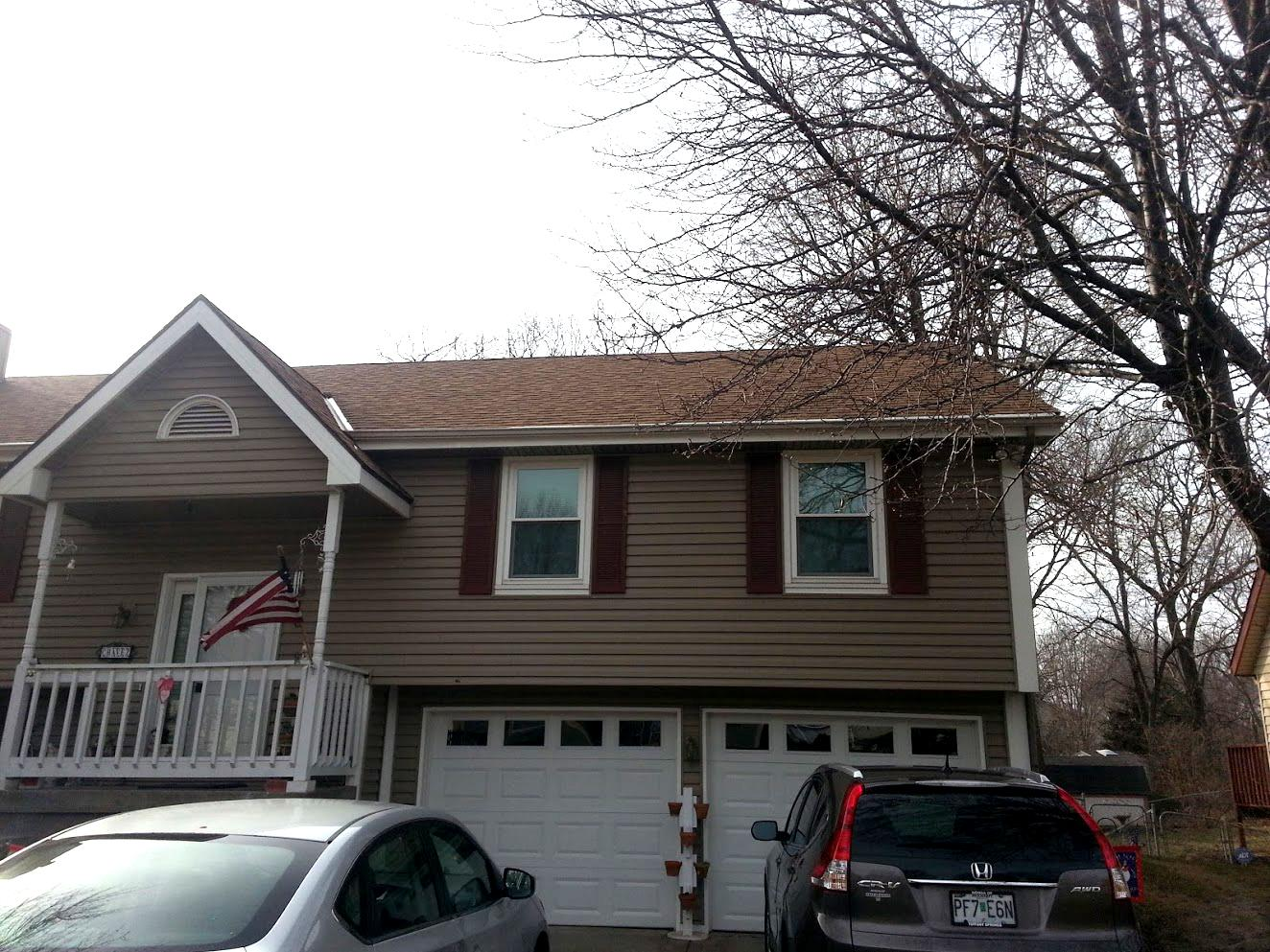 Roof Replacement Replace Shingles And Add Gutter Screens