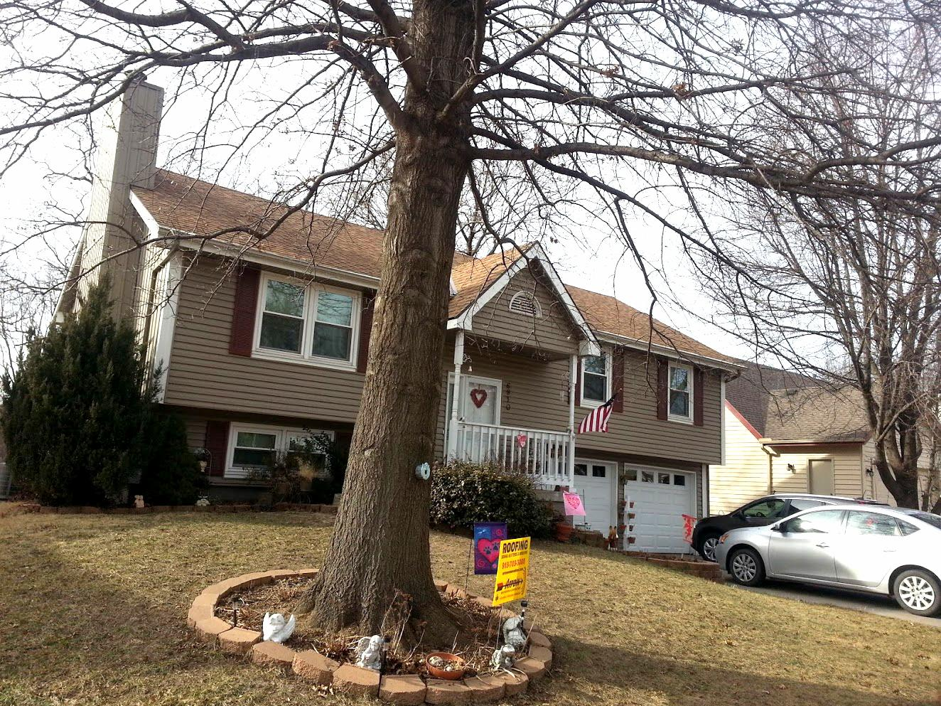 Roof Replacement Replace Shingles And Add Gutter Screens In Pleasant Valley Mo Replace