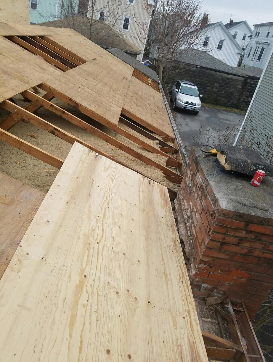 Roof Repair Providence Ri Rotten Plywood Replacement