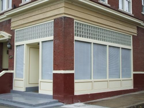 Commercial Glass Block Installation in Richmond, VA