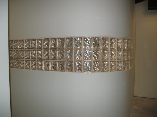 Stylish Glass Block Installation for Richmond Dentist Office