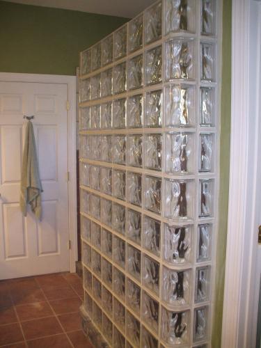 Glass Block Installation for Fredericksburg, VA Shower