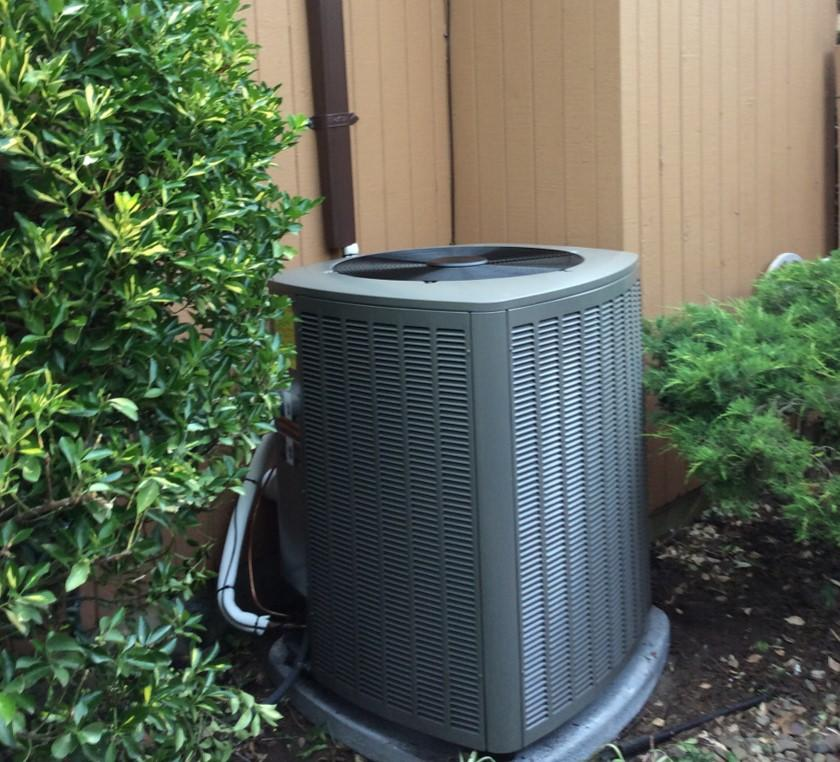 New Lennox Air Conditioning Condenser in Mountainside