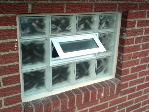 Vented Basement Window
