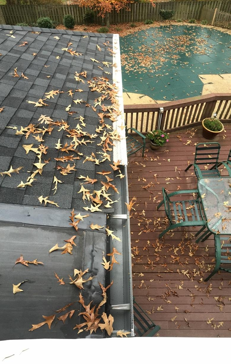 Clog-Free Gutter System in Annandale, VA