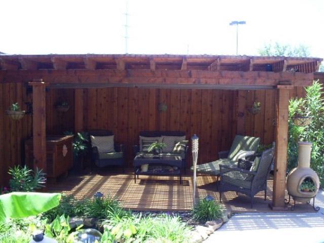 Shade Arbor Installations Lounge Area