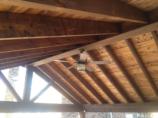 Detailed Cedar Finish Work