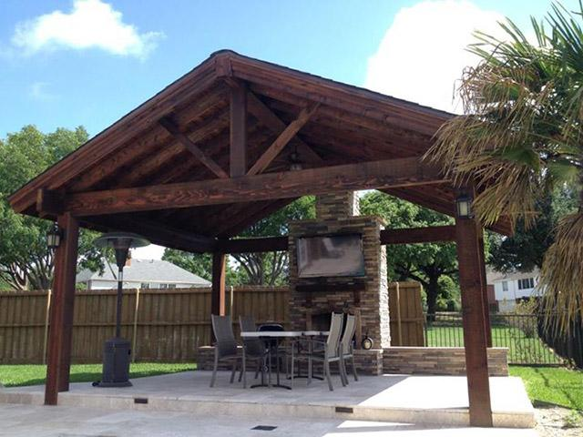 Outdoor Living Patio Cover Projects Stand Alone Patio