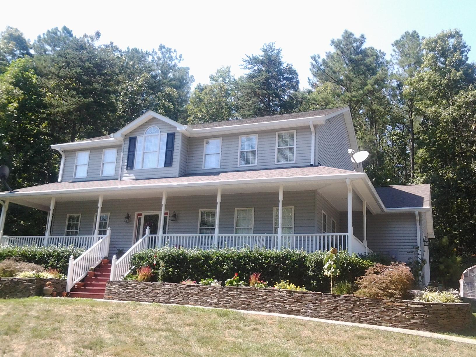 Beautiful VA Home Gets New Gutter System