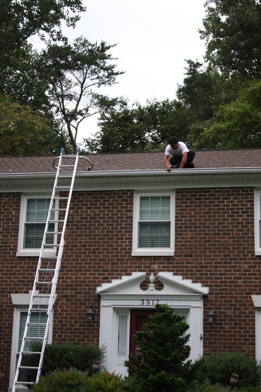 Gutter Job in Centreville, VA