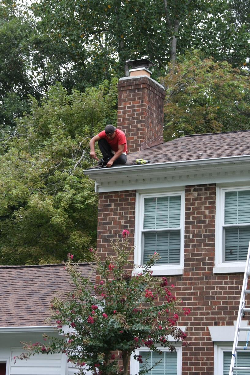 Installing New Gutters in Centreville