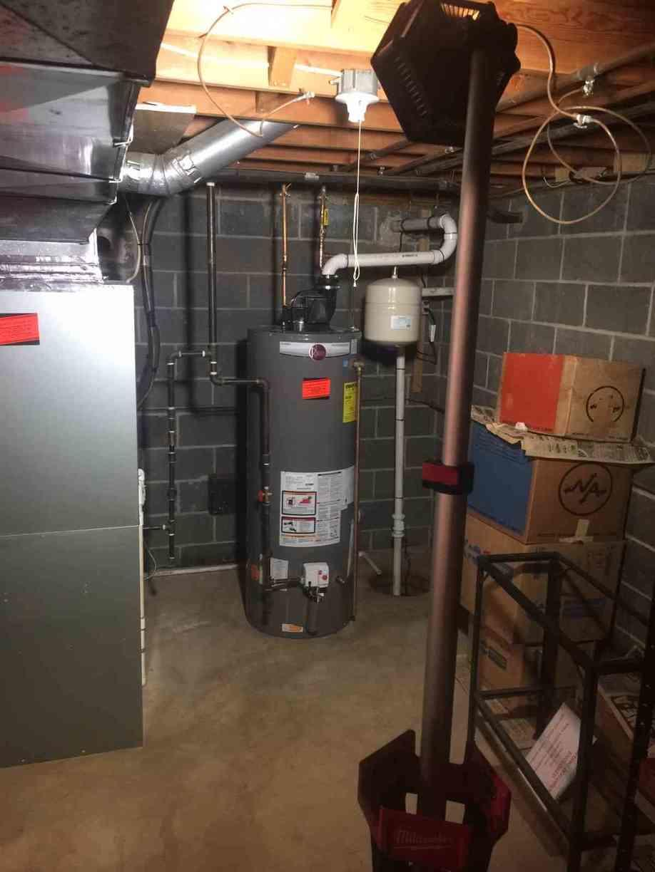 New Lennox Furnace and Rheem Water Heater in Bridgewater, NJ
