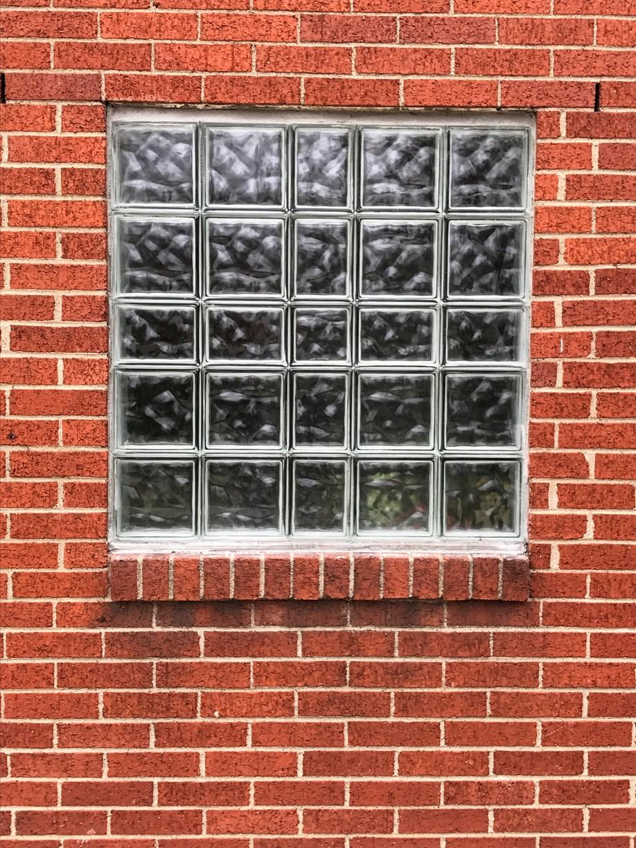 Wave Patterned Solid Window in Aliquippa, Pa