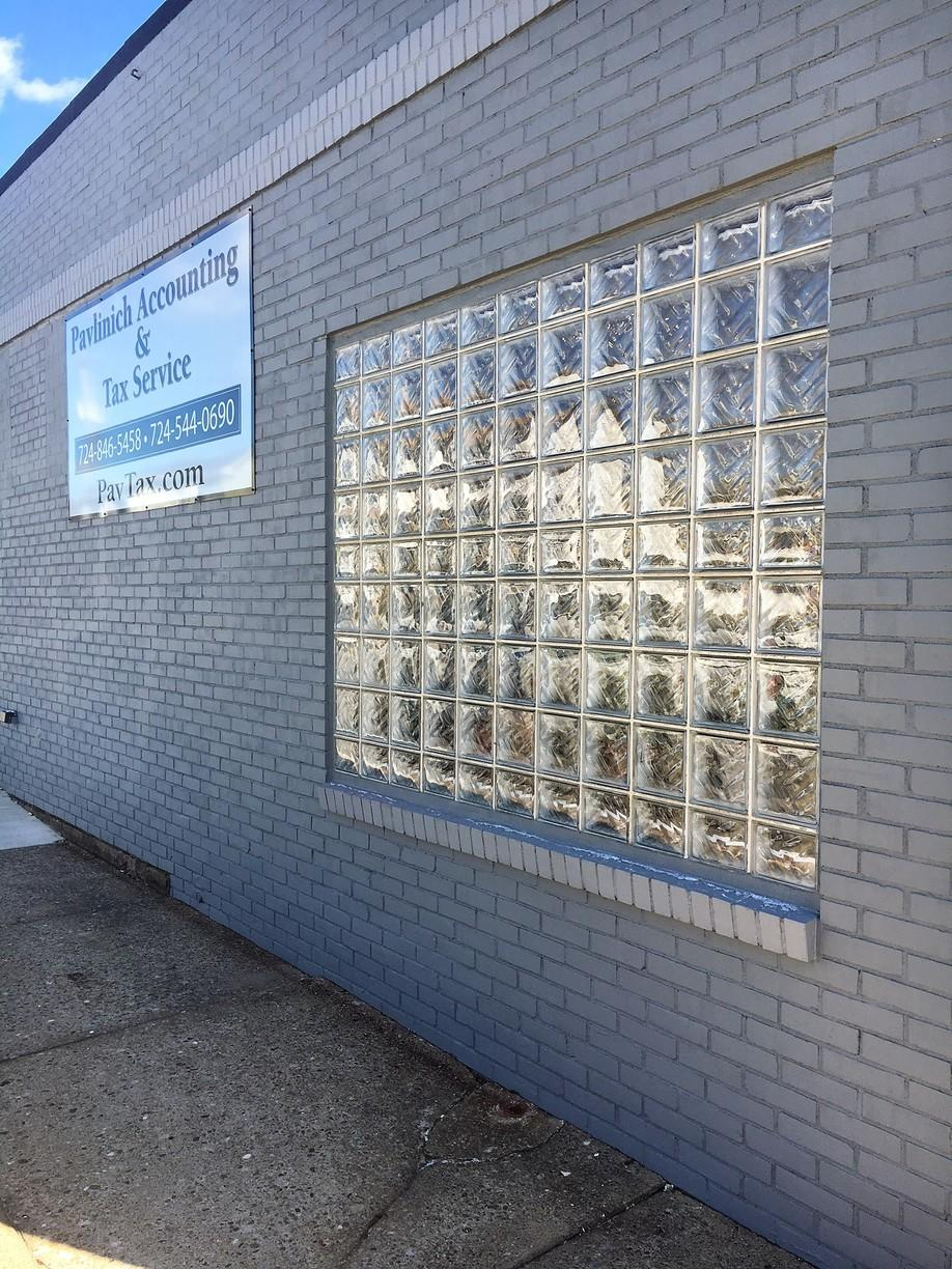 Large Glass Block Window Installation in New Brighton, PA