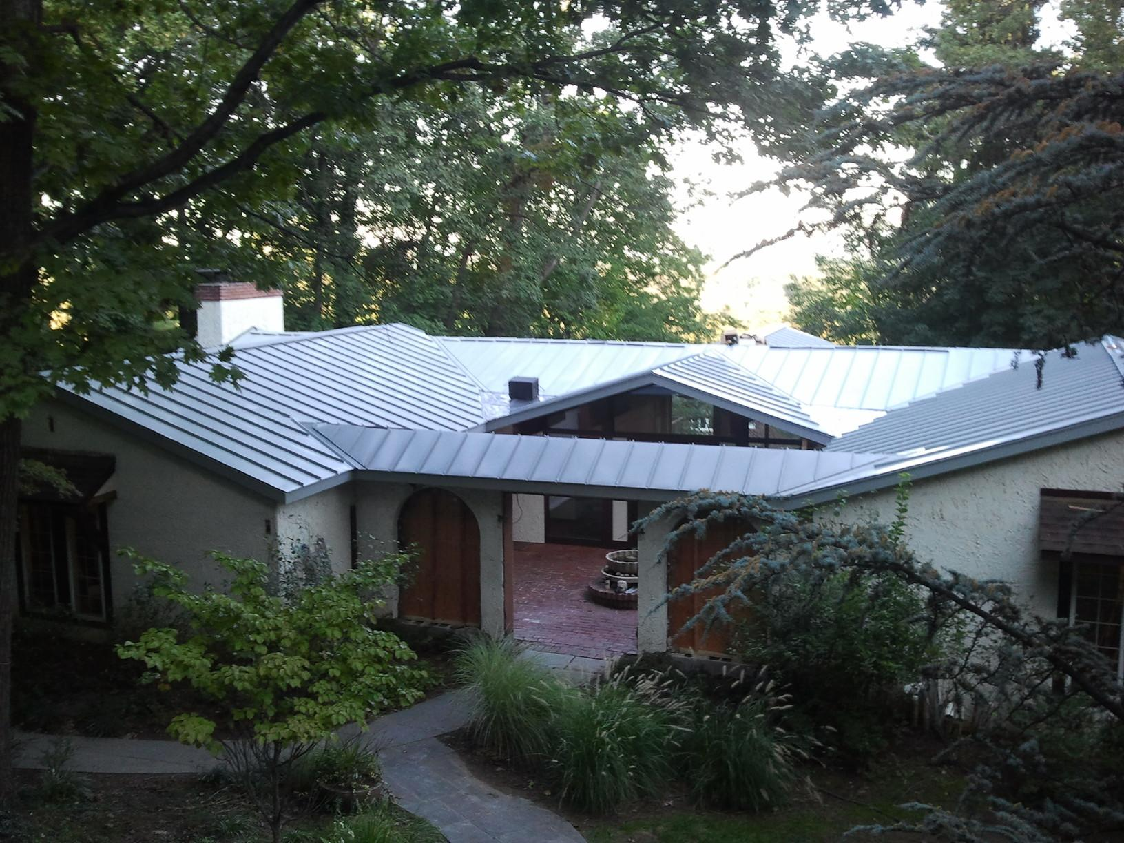 Contemporary Metal Roof