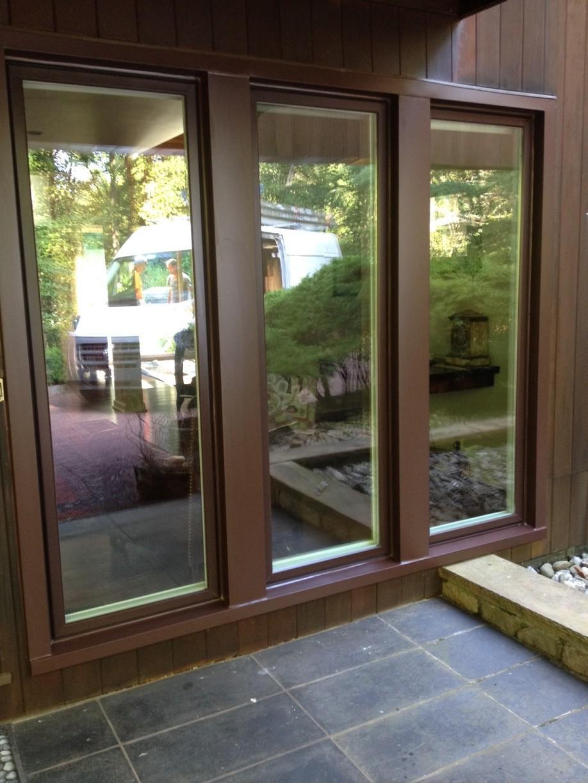Infinity Fiberglass Windows from Marvin Bahama Brown Exterior Bernardsville, NJ - Triple