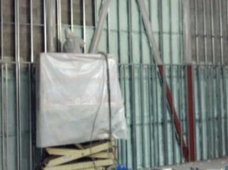 In Progress: Spray Foam Insulation in Port Chester