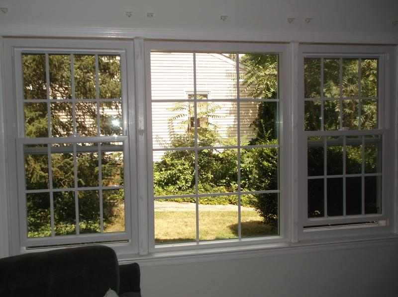 Vinyl Double Hung Windows with Grids