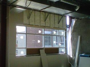New Construction Insulation at Rider University in Lawrenceville, NJ