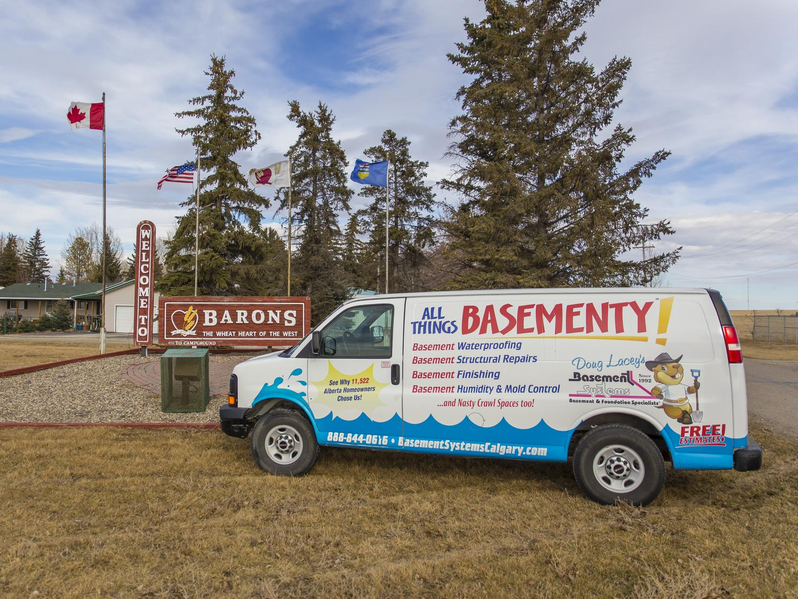 We are Proud to Serve Barons, AB and all of it's Surrounding Communities!