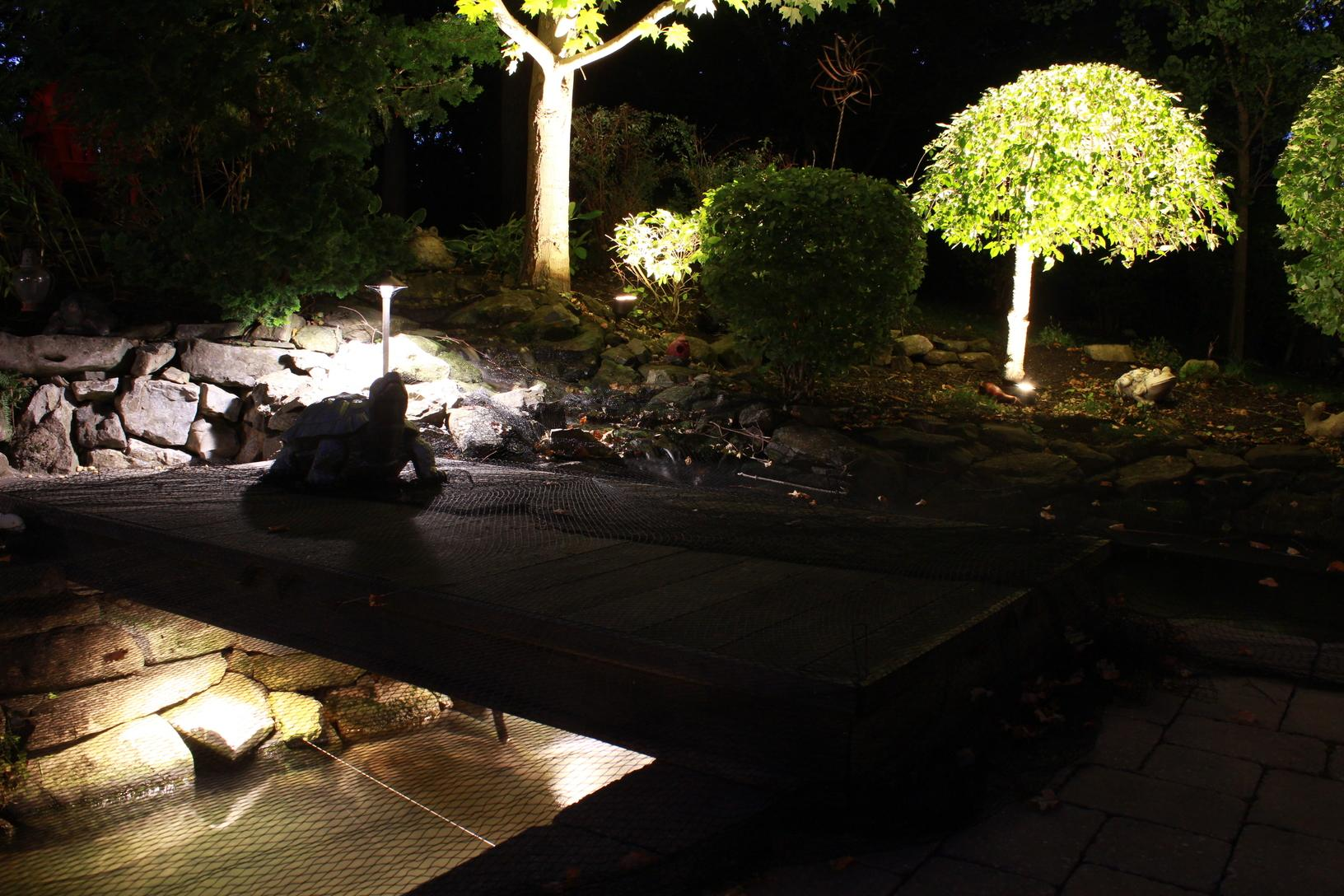 Outdoor Lighting Landscape Lighting In Wall Township Nj Backyard Outdoor Lighting