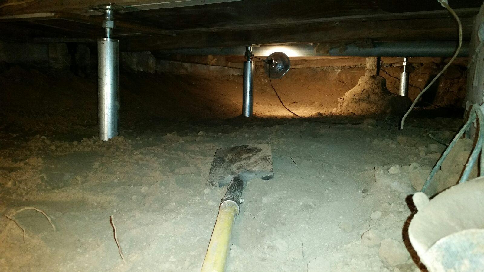 Making the crawl space more desirable