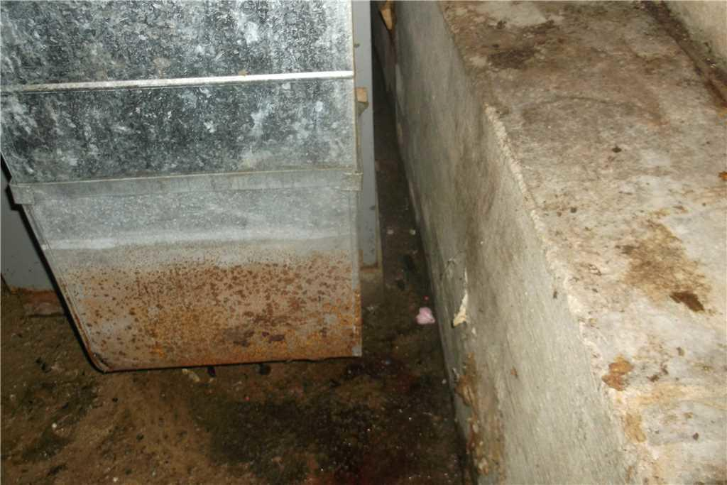 Rusty Ductwork Occurs As Moisture Continues