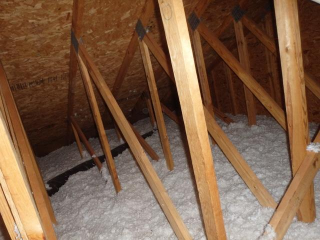 Attic Air Sealed Insulated In Severna Park Md Old Attic Insulation