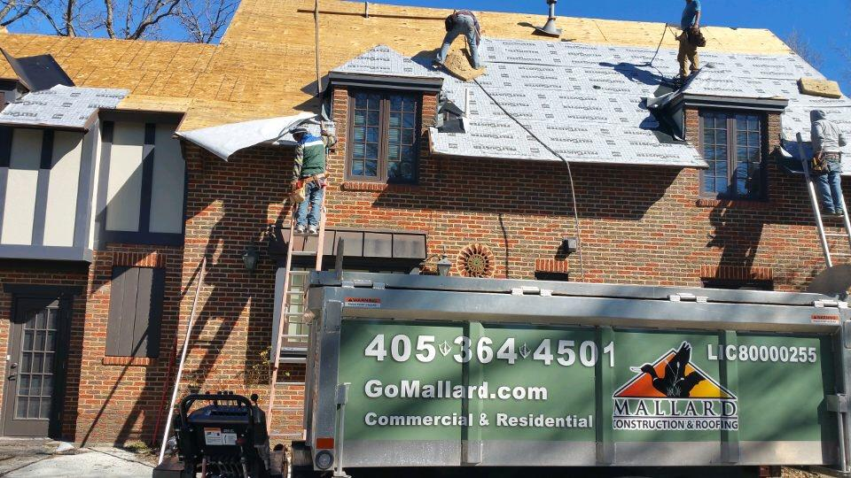 Our Roofers hard at work in Ada