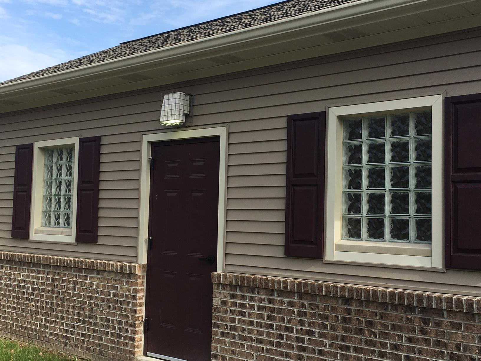 Wave Patterned Window Installation in Coraopolis, Pa