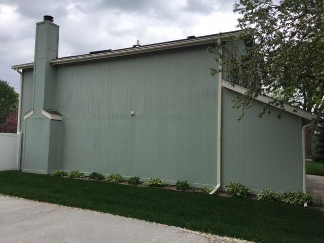 Lovely Home in Waterloo with LeafGuard Brand Gutter System Installed - Left Side