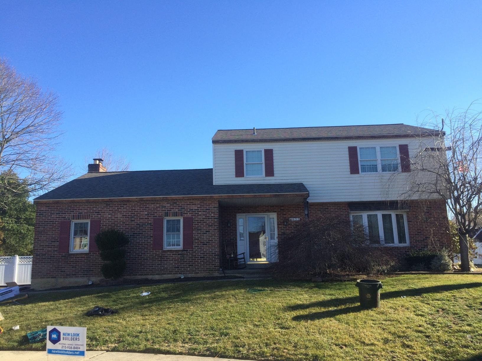 Owens Corning Roof Replacement in Folsom, PA