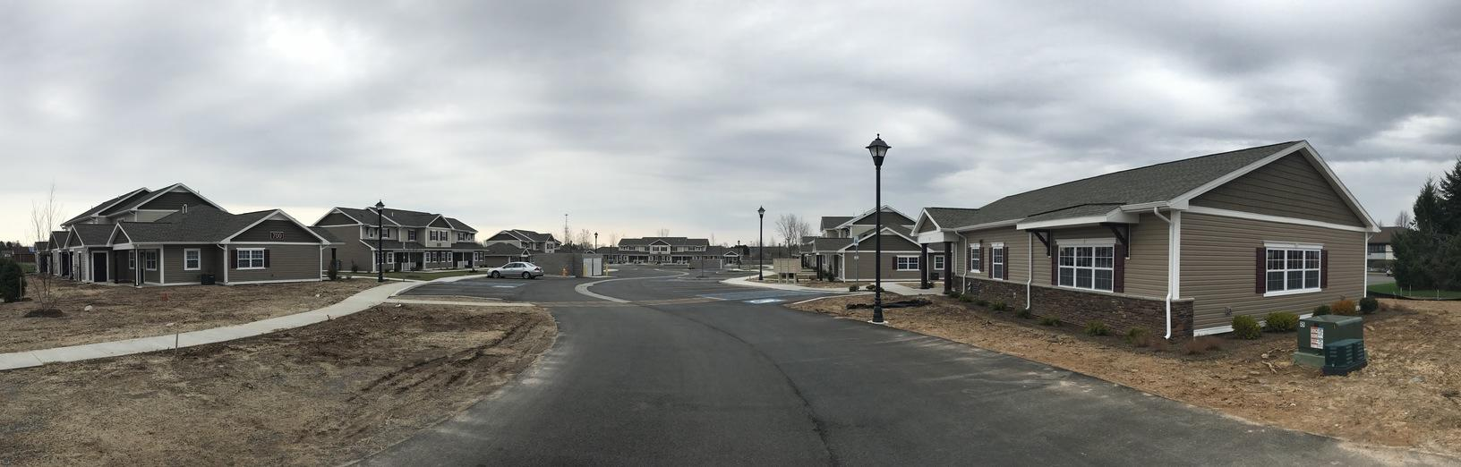 Crerand Commons Housing Complete for Gates, NY