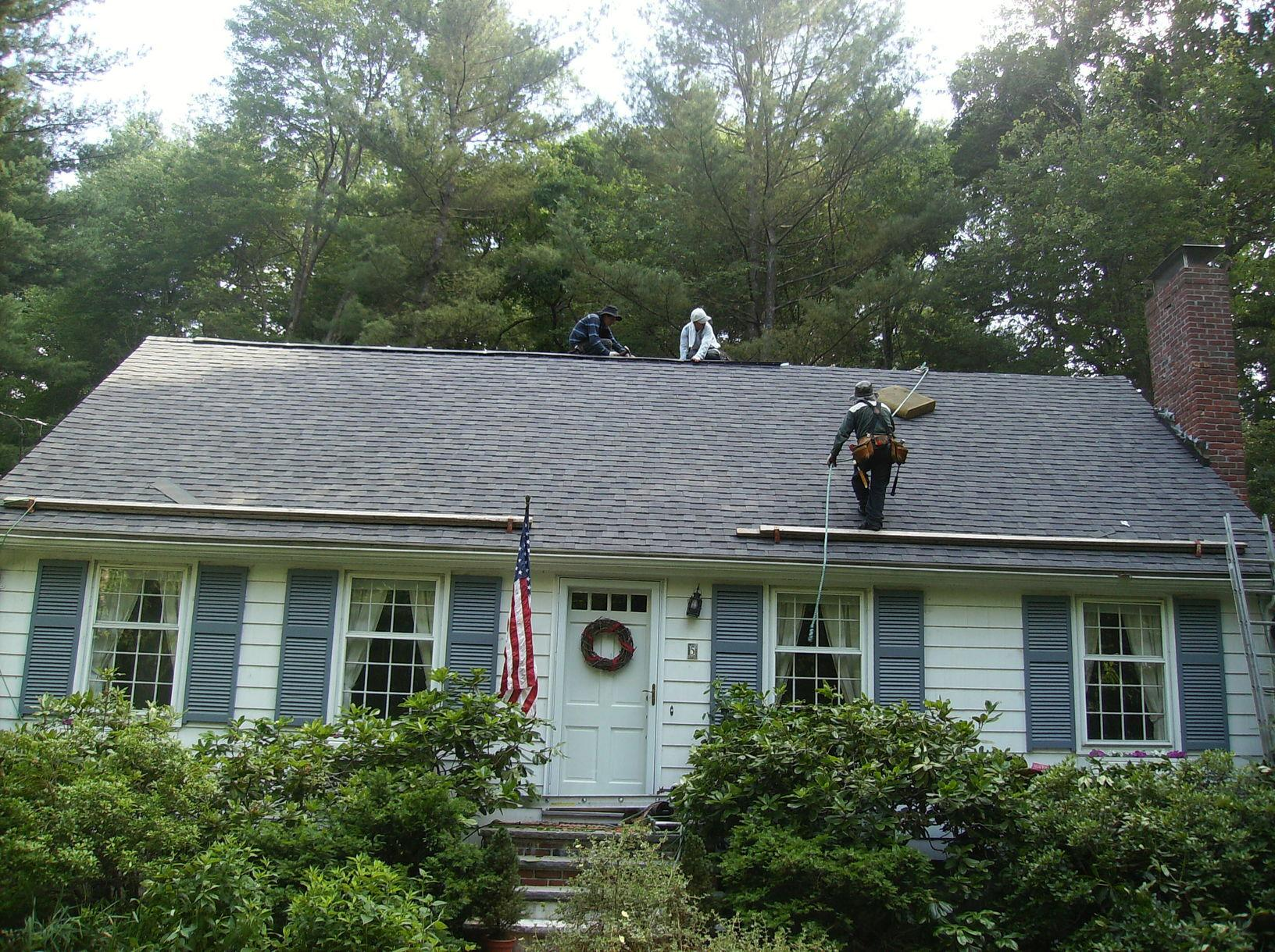 Types Of Roofing Roof Shingle Replacement In Arlington
