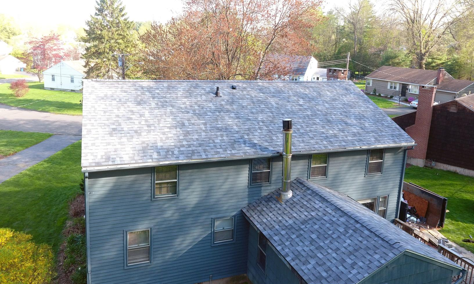 Roof Replacement - Back of Home