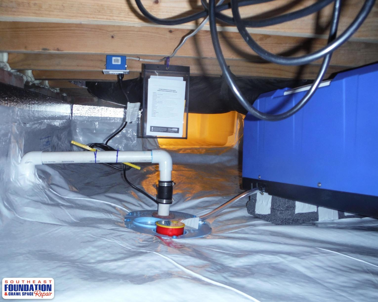 CleanSpace Encapsulation with SaniDry CX and SmartSump