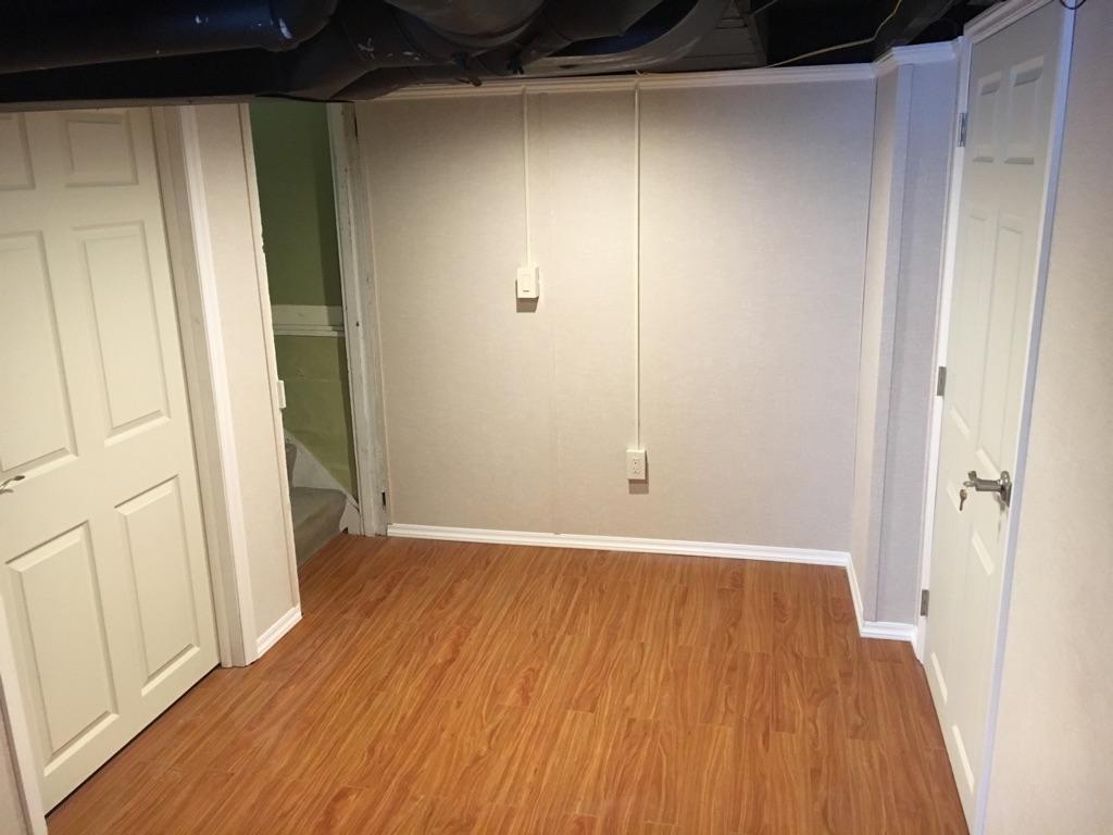 A warmer & safer feeling when entering the basement